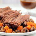Slow Cooker Brisket with Brown Gravy (Sandra Lee)