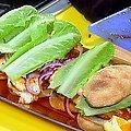 Smoky Orange Barbecue Chicken Sandwiches (Rachael Ray)