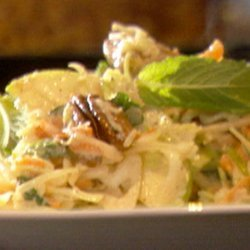 Spicy Fried Chicken with Dijon Slaw (Ming Tsai)