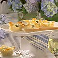 Spinach Souffle-Phyllo Cups (Sandra Lee)