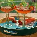 Strawberry Rhubarb Margaritas (Bobby Flay)