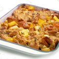 Sweet and Savory Bread Pudding (Giada De Laurentiis)