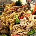 Szechuan Noodles with Chicken and Broccoli (Ina Garten)