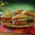 Tassa's Turkey Cornucopia Burger with Paprika Aioli