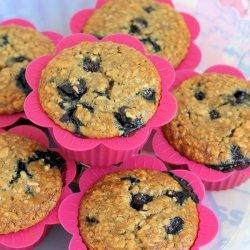 Oatmeal Banana Blueberry Muffins