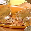 Turkey Cutlets with Cranberry Orange Stuffing and Pan Gravy (Rachael Ray)