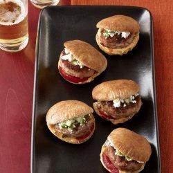Turkey-Hummus Sliders (Food Network Kitchens)