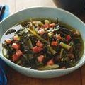Vegetarian  Southern-style  Collard Greens