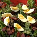 Warm Spinach Salad (Rachael Ray) recipe