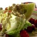 Wedge Salad with Grilled Grape Tomatoes and Blue Cheese Vinaigrette (Melissa  d'Arabian)