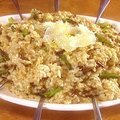 Wild Mushroom and Asparagus Risotto (Alton Brown)