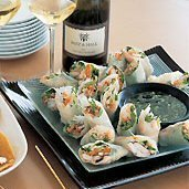 Shrimp Rice-paper Rolls With Vietnamese Dipping Sa...