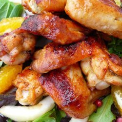 Roasted Honey Chicken Wings