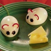 Hard-boiled Egg Mice