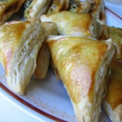 Feta Cheese Stuffed Pastry Bundles