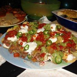 Nachos A La Butler recipe