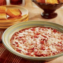 Game Day Layered Pizza Dip recipe
