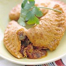 Picadillo Empanadas With Cornmeal Crust recipe