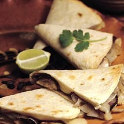 Beef And Cremini Mushroom Quesadillas