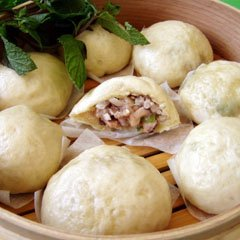 Steam Pork  Mushroom Dumpling recipe