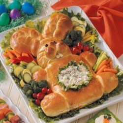 Easter Bunny Bread - Easy And Cute