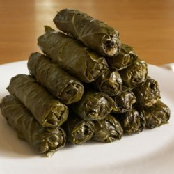 Marys Stuffed Grape Leaves