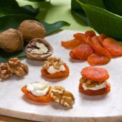 Walnut Apricot Appetizer
