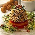 California Walnut Couscous Tuna Tower recipe