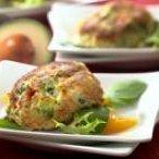 Avocado Stuffed Crab Cakes