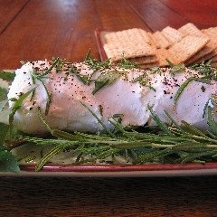 Goat Cheese Log With Herbs Appetizer