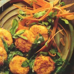 Fried Goat Cheese With Mint Salad