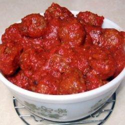 Party Size Italian Meatballs recipe