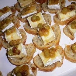 Brie Toast With Chardonnay-vanilla Syrup And Golde... recipe