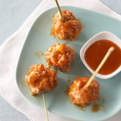 Saucy Apricot N Spiced Meatballs