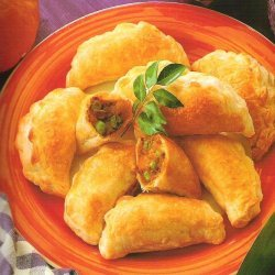Spicy Pumpkin Puffs recipe