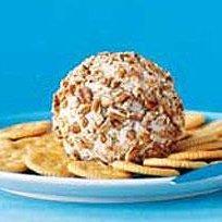 Pecan Coated Cheese Ball