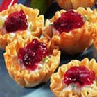 Cranberry Crab Meat And Cream Cheese Appetizers