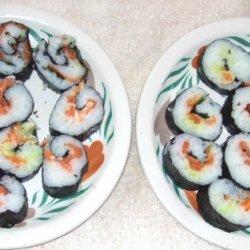 Smoked Salmon Nori Rolls recipe