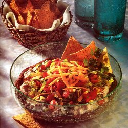 Five-layered Mexican Dip