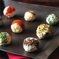 Spiced Yogurt Cheese Balls