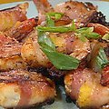 Bacon Wrapped Pineapple Shrimps recipe