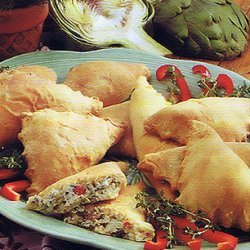 Creamy Herb Appetizer Pockets Meatless