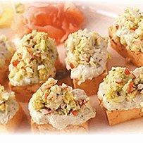 Tofu And Avacado Canapes