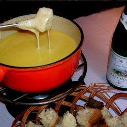 Porcini Fondue With Ham And Ciabatta