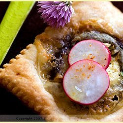 Cheese Eggplant Thyme And Honey Tartlets recipe