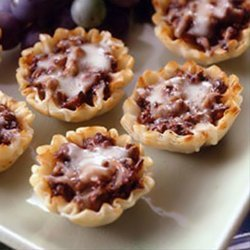 Forest Mushroom Pastry Shell Appetizers recipe