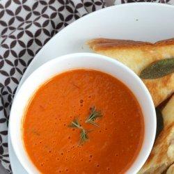 Creamy Roasted Garlic Soup