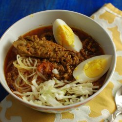 Northern Thai Curry Noodle Soup