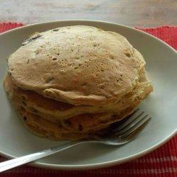 Whole-Wheat Oatmeal Pancakes