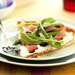 Mascarpone, Ham, and Asparagus Tart recipe